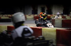 Gokartbahn Mol in Action